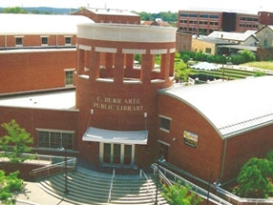 C. Burr Artz Library in downtown Frederick