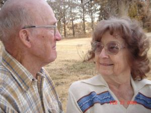 My grandparents... together again.