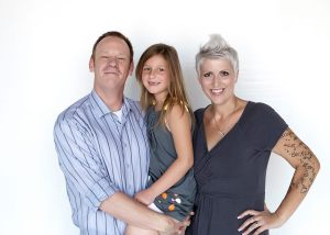 Heather Von St. James and family